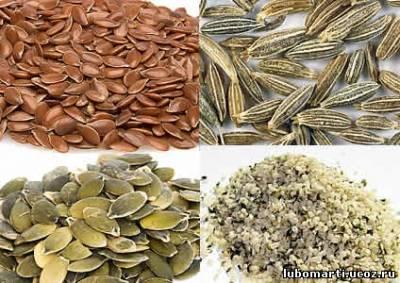 Самые полезные семечки и зерна